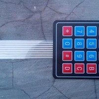 Matrix Keypad Membrane 4x4