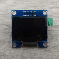 LCD OLED Module 0.96 Inchi 4Pin Warna Putih