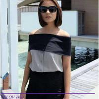 baju sabrina top grosir bangkok premium