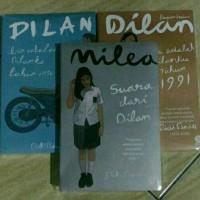 3 Novel Pidi Baiq (Novel Dilan 1+Dilan 2 + Milea)