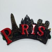 Souvenir Paris Gantungan Magnet Kulkas