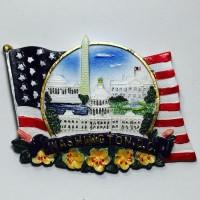 Souvenir USA #2 Gantungan Magnet Kulkas