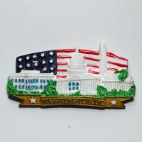 Souvenir Mancanegara USA #1 Gantungan Magnet Kulkas