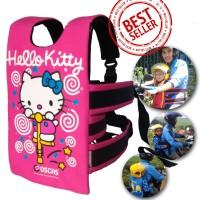 "Sabuk Boncengan Motor Anak Motif ""Hello Kitty"" | Oscas"