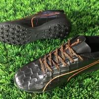 Sepatu Futsal Puma EvoTOUCH 3 TF - Black Orange