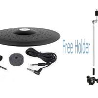 Yamaha DTX PCY135 + Holder / PCY 135 Cymbal Elektrik 3 Zone 13 Inch
