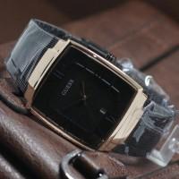 jam tangan wanita guess rantai pasir kotak modern