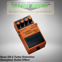 Efek Gitar Boss DS-2 Turbo Distortion / Boss DS 2 baru 100% original