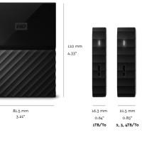 Harddisk external portable WD My Passport 2 TB