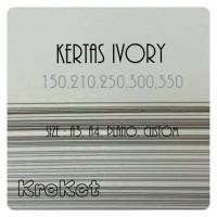 Kertas Ivory 210g A3