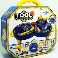 Mainan Alat Tukang Anak Tool Set Workshop Koper