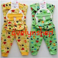 baju stelan bayi/ sarung tangan bayi/ sepatu bayi/ slabber/ baju panja