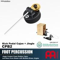 Meinl Foot Percussion CPB2 Bass Kick Cajon Beater Jingle Pedal Kahon