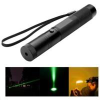 Laser Hijau / Green Beam Adjustable Focus Laser Pointer 1MW 532NM