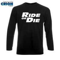 Kaos Lengan Panjang The Fast and the Furious - Ride Or Die - by Crion