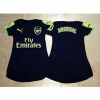 Dress Baju Bola Bayi Jersey Anak Perempuan - Arsenal Third