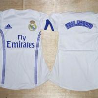 Baju Bola Bayi Anak Cewek / Baby Dress Real Madrid Home 16/17