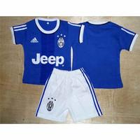 Setelan Kaos Jersey Baju Bola Anak Bayi - Juventus Away