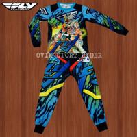 baju Jersey stelan anak motor cross FLY RACING /anak trail FLY RACING