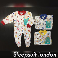 Sleepsuit atau Jumper Panjang Libby Buka Kaki / Tutup Kaki seri2