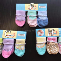 SUPER SALE Kaos Kaki (socks) Bayi carter 3 in 1 Boy 0-12 months