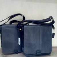 Fossil Crossbody Man Bag Navy Original NWT 100% Authentic