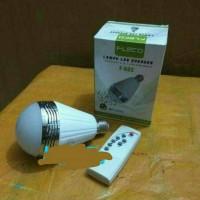 Lampu led Speaker Bluetooth 2 IN 1 LED & Musik Fleco F-603