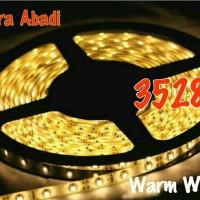 LED Strip SMD 3528 Warm White DC 12V IP44 WATERPROOF