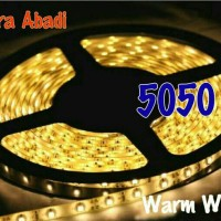 LED Strip SMD 5050 Warm White IP44 WATERPROOF