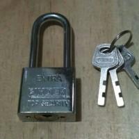 Kunci Gembok Pintu Pagar Rolling Door Toko 40mm Panjang Finder 40L