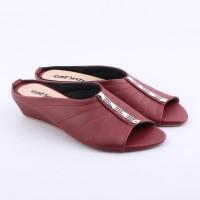 Sepatu Sandal Flat Wanita Sendal Selop Pesta RT161