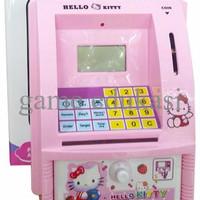 PROMO Mainan Edukatif / Edukasi Anak Celengan ATM Bank Mini Hello Kitt