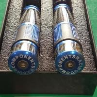 Handfat Rizoma Full CnC Handle Grip + Selongsong Gas Motor Universal