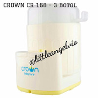 Crown Steril CR 168 sterilizer cr168 3 botol