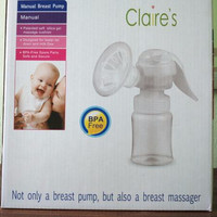 Breast Pump Manual Claires