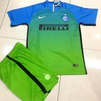 Setelan Jersey Kaos Baju Bola Anak Intermilan Kids Inter Milan 3rd Thi
