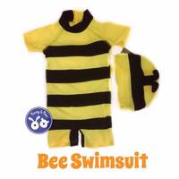 Bee Swimsuit / Baju Renang Diving Lebah Anak Bayi