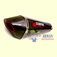 Knalpot racing full system utk motor 250cc (ninja250,R25,MT25,Cb250r)