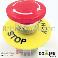 Emergency Stop Push Button Switch AC 660V 10A - 2NC DPST