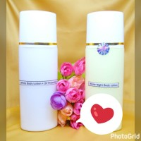 paket pemutih tubuh forte / body whitening super / lotion glowing