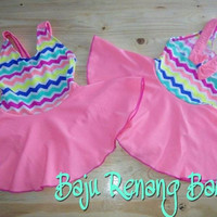 Baju Renang Baby Zigzag