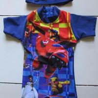 Baju Renang Bayi Topi Baymax-Big Hero BRB-K18