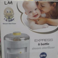 Steam Sterilizer / Alat Steril Botol Susu IQ BABY