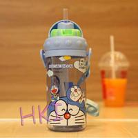 Botol Minum Anak Sedot 430ml - Doraemon BC 3221 (Ada Tali Panjang)