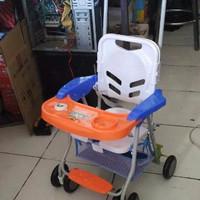 pengiriman khusus GOJEK Kursi Makan Bayi Chair Stroller Family fc 8288