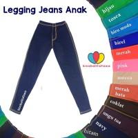 Legging Jeans Uk. Tanggung 9-12 th / Leging Polos Jeans Anak