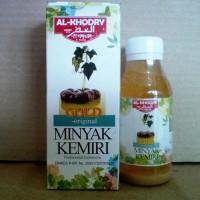 Minyak Kemiri Gold Original Plus Zaitun Al Khodry