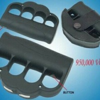 Stun Gun Knuckle WS009 Hitam Alat Kejut Setrum Taser