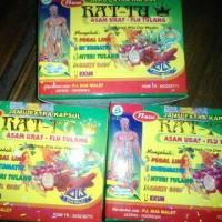 Kapsul Rattu, Jamu Asam Urat, flu tulang, reumatik pegal linu