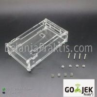 Case for Arduino Mega 2560 R3 - Acrylic Transparent Box - Enclosure
